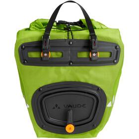 VAUDE Aqua Front Light Bagagedragertas 2 stuks, groen